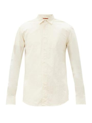 Matchesfashion.com Barena Venezia - Scarpion Cotton Shirt - Mens - Cream