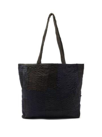 Matchesfashion.com By Walid - Joyce Patchworked Tote Bag - Mens - Multi