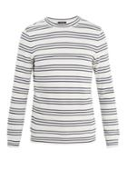 A.p.c. Striped Knit Sweater