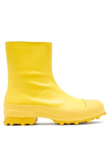 Matchesfashion.com Camperlab - Traktori Leather Boots - Mens - Yellow