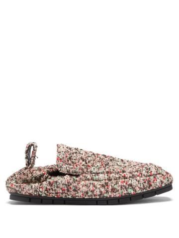 Matchesfashion.com Bottega Veneta - Plank Boucl Loafers - Mens - Multi