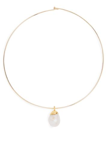 Lizzie Fortunato Best Lady Pearl-pendant Necklace