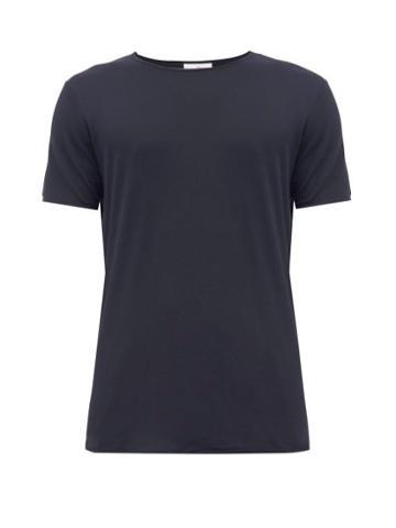 Matchesfashion.com The White Briefs - Organic Cotton Jersey T Shirt - Mens - Navy