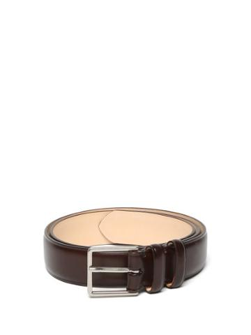 Matchesfashion.com Paul Smith - Leather Belt - Mens - Brown