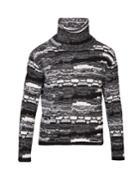 Saint Laurent Funnel-neck Cable-knit Sweater