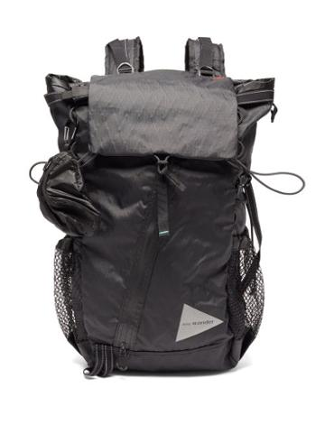 Matchesfashion.com And Wander - X-pac Ripstop Backpack - Mens - Black