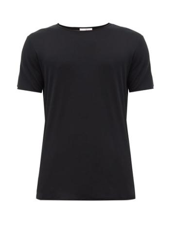 Matchesfashion.com The White Briefs - Earth Organic Cotton T Shirt - Mens - Black
