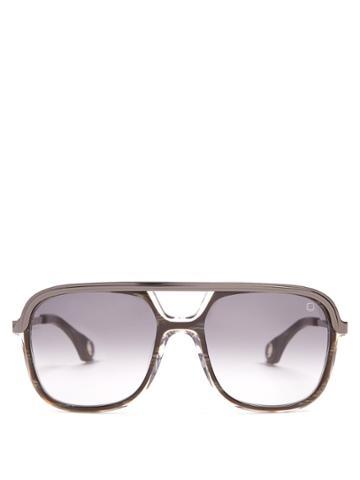 Blake Kuwahara Foster Aviator Acetate Sunglasses