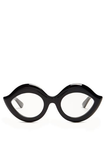 Gucci Cat-eye Acetate Glasses