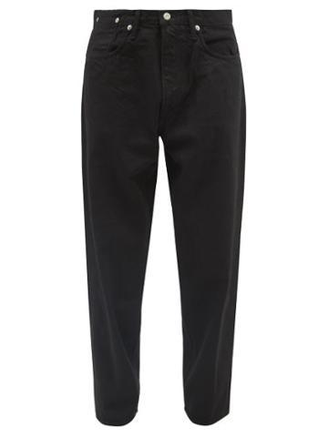 Kuro - Anders High-rise Wide-leg Jeans - Mens - Black