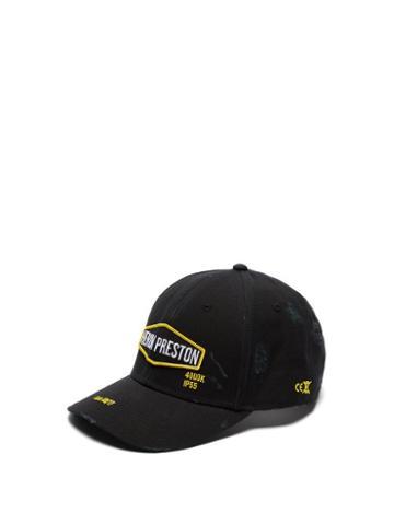 Matchesfashion.com Heron Preston - Harley Baseball Cap - Mens - Black Multi