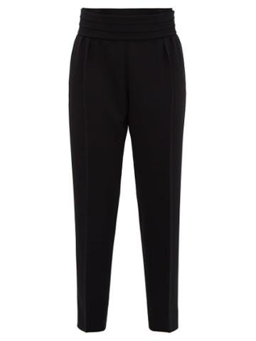 Matchesfashion.com Max Mara - Anagni Trousers - Womens - Black