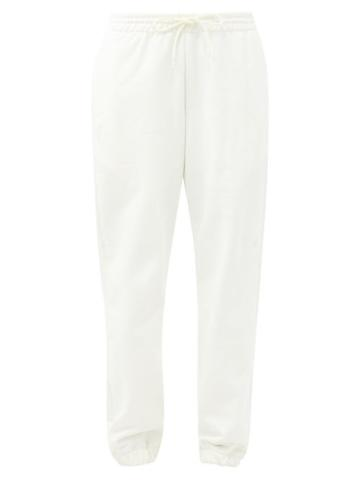 Matchesfashion.com Wardrobe. Nyc - Release 02 Drawstring-waist Cotton Track Pants - Womens - White