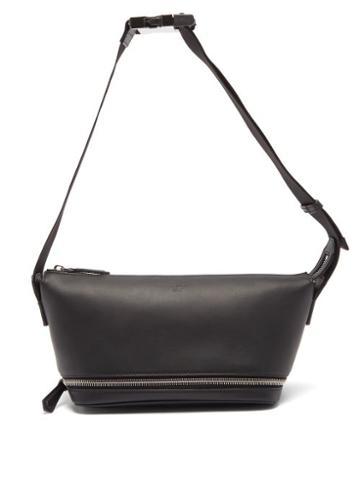 Fendi - Logo-embossed Leather Cross-body Bag - Mens - Black