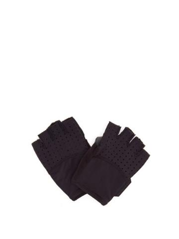 Matchesfashion.com Caf Du Cycliste - Summer Cycling Gloves - Mens - Black