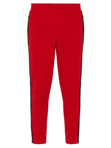 Matchesfashion.com Martine Rose - X Nike Technical Jersey Track Pants - Mens - Red