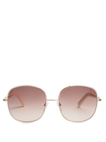 Tom Ford Eyewear Georgina Metal Sunglasses
