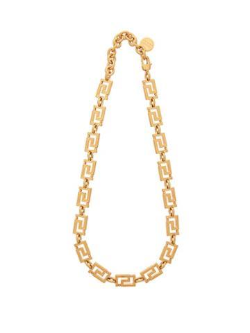 Matchesfashion.com Versace - Grecamania Necklace - Womens - Gold