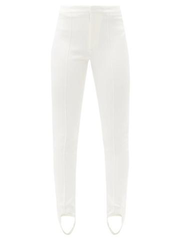 Matchesfashion.com Moncler Grenoble - Stirrup Skinny-fit Ski Trousers - Womens - Cream
