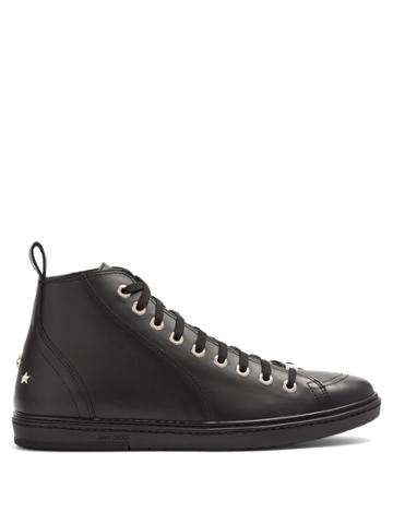 Jimmy Choo Colt High-top Leather Trainers