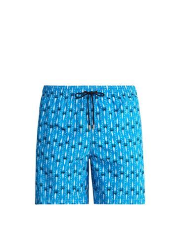 Le Sirenuse, Positano Melody-print Swim Shorts