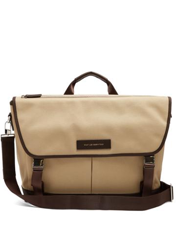 Want Les Essentiels Jackson Cotton-canvas Messenger Bag