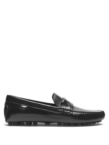 Dolce & Gabbana Leather Penny Loafers