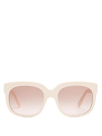 Gucci X Elton John Square-frame Sunglasses