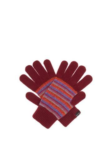 Matchesfashion.com Paul Smith - Signature-stripe Wool Gloves - Mens - Multi