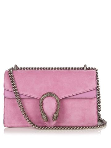Gucci Dionysus Small Suede Shoulder Bag