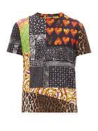 Matchesfashion.com Versace - Multi Print Cotton T Shirt - Mens - Multi