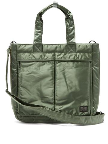 Matchesfashion.com Porter-yoshida & Co. - Tanker 2way Tote Bag - Mens - Green