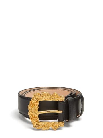Versace Engraved-buckle Belt