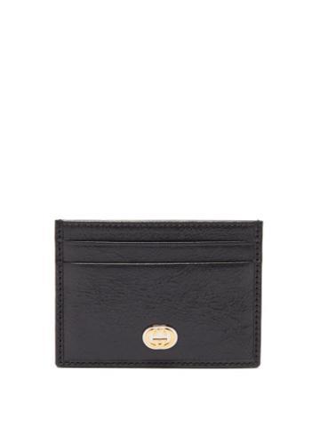 Matchesfashion.com Gucci - Morpheus Leather Cardholder - Mens - Black