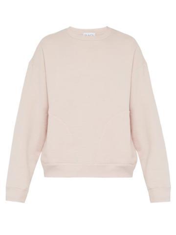 Matchesfashion.com Raey - Crew Neck Japanese Jersey Sweatshirt - Mens - Nude