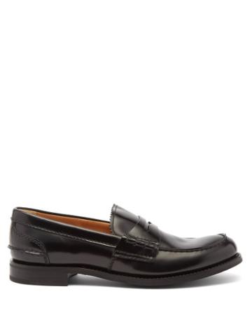 Church's - Pembrey Leather Loafers - Womens - Black
