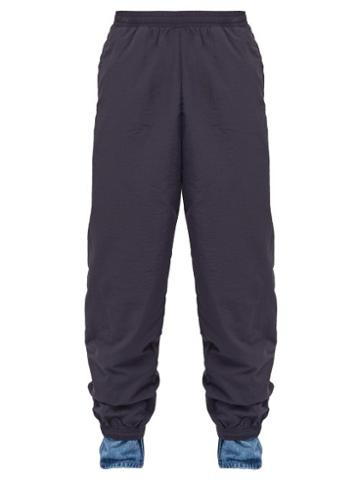 Matchesfashion.com Y/project - Denim Cuff Deconstructed Track Pants - Mens - Navy