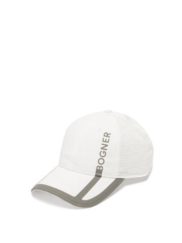 Matchesfashion.com Bogner - Samy Logo-print Twill Cap - Mens - White