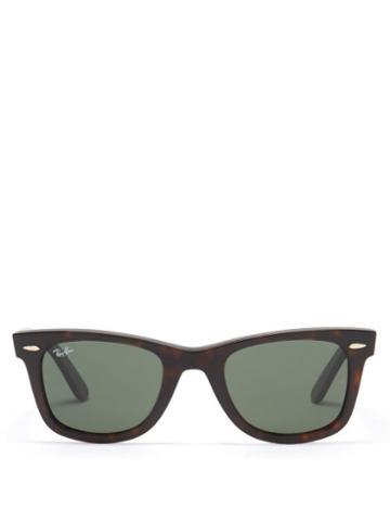 Ray-ban - Wayfarer Acetate Sunglasses - Womens - Black