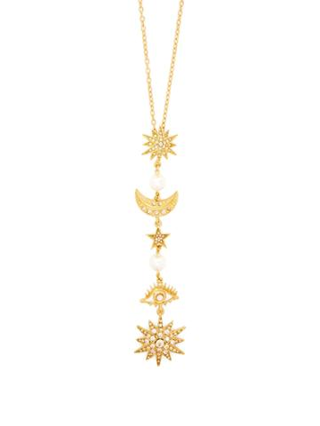 Oscar De La Renta Crystal-embellished Pendant Necklace