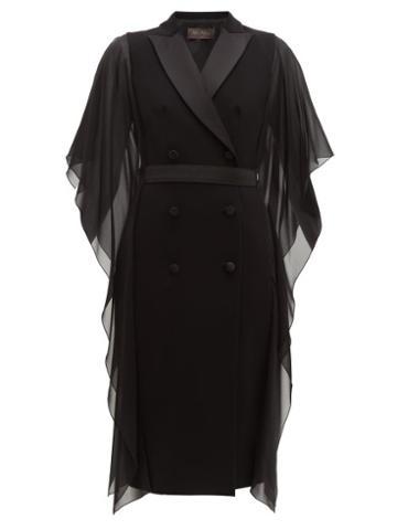 Matchesfashion.com Max Mara - Palomba Dress - Womens - Black