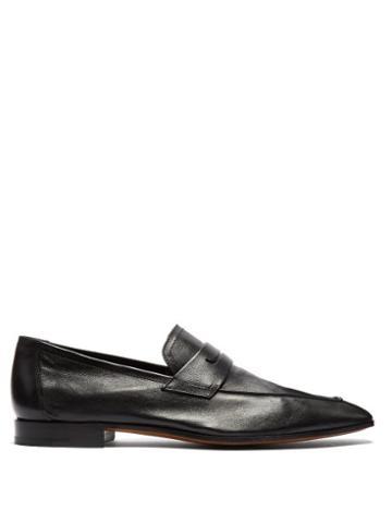 Matchesfashion.com Berluti - Lorenzo Rimini Leather Loafers - Mens - Black