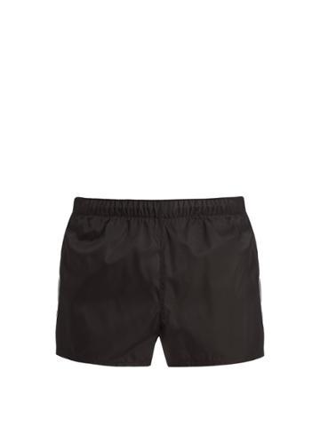 Prada Logo-patch Technical Shorts