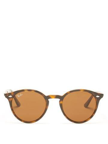 Ray-ban - Round Tortoiseshell-acetate Sunglasses - Womens - Brown Multi