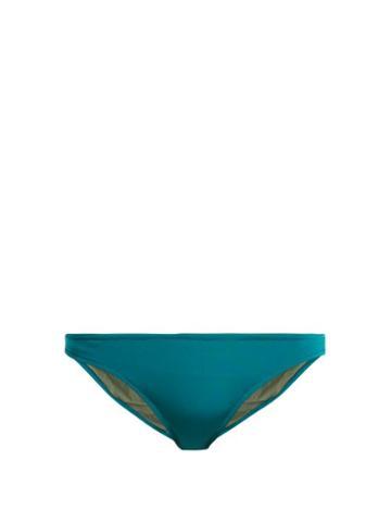 Matchesfashion.com Bower - Catroux Bikini Briefs - Womens - Blue