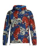 Gucci Tiger-print Hooded Jacket