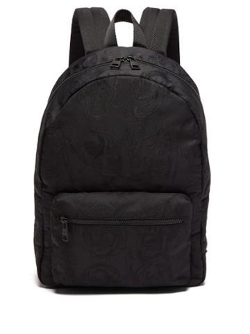 Alexander Mcqueen - Metropolitan Skull-jacquard Nylon Backpack - Mens - Black