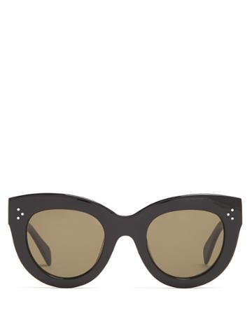 Céline Eyewear Caty Cat-eye Acetate Sunglasses