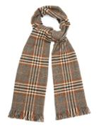 Colombo Checked Cashmere Scarf