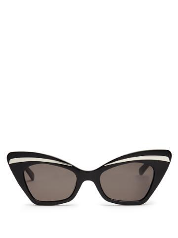 Karen Walker Eyewear Babou Shrunken Cat-eye Sunglasses